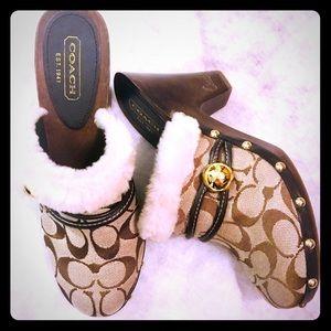 Size 8 coach shoes